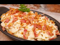 Mashed Potatoes, Cauliflower, Macaroni And Cheese, Bacon, Vegetables, Ethnic Recipes, Youtube, Food, Drinks