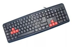 teclado estándar slim usb durable pc laptop computadoras
