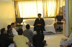 A Man of Peace Hope Humanity Maulana Abidi Recites Our House Majlis