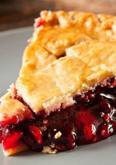 Cherry Pie -- This is the recipe I use for my world-famous pie beloved all…