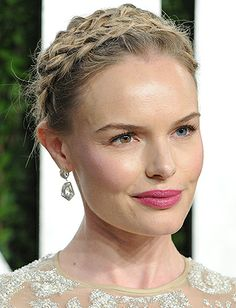 Top 10 Braided Updos: Kate Bosworth