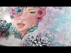 Quieres aprender a hacerlo? .. yo te enseño, no creerás lo que harás con tus propias manos!!! - YouTube Mixed Media Art, Mix Media, Free Time, Scrap, Canvas, Painting, Youtube, Paper, Google