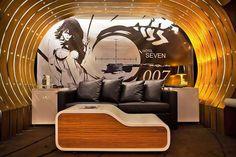 hoteis 30-James Bond 007 Suite Hotel, em Paris, França