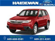 2010 Subaru Forester 2.5X 37k miles $14,000 37233 miles 609-608-0581 Transmission: Automatic  #Subaru #Forester #used #cars #HaldemanFord #HamiltonSquare #NJ #tapcars