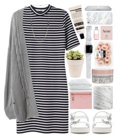 """Wynona"" by brenna-kaye ❤ liked on Polyvore featuring T By Alexander Wang, Lord & Berry, Korres, Tom Ford, Crate and Barrel, Zara, Casetify, Prada and Aesop"