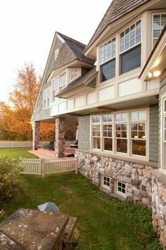 Evergreen landing cottage architect sure pinterest for Maine residential architects