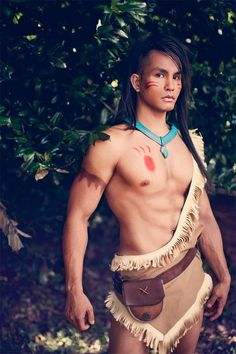 Pochahontas costume genderbend - Google Search