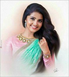 South Actress, South Indian Actress, Beautiful Indian Actress, Beautiful Actresses, Beautiful Heroine, Indian Natural Beauty, India Design, Cute Cartoon Girl, Beauty Full Girl