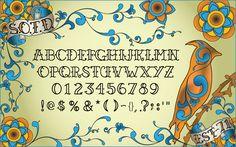 tipografia fileteado porteño descargar - Buscar con Google