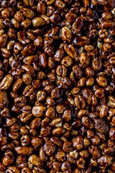 Puffed Wheat Cake - easy, no bake, chocolate cereal treats.