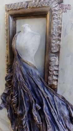 Mannequin Art, Recycled Art Projects, Mixed Media Art, Picture Frames, Beautiful Pictures, Canvas Art, Creations, Candles, Sculpture
