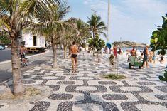 calçada in Rio, Brazil