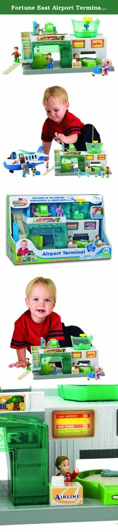 Fortune East Airport Terminal Playset. Even the youngest tots can become travel-savvy!.