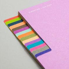 tabs & palette / Studio Lin