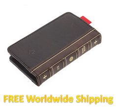 iPhone 4 / 4S Retro Book Case - Wallet  http://www.accestories.com/797/45/apple-accessories/iphone-44s/retro-design-book-leather-wallet-case-for-iphone-4-4g-4s-detail