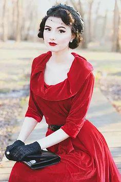 Fifties Fashion, Quirky Fashion, Indie Fashion, Retro Fashion, Fashion Beauty, Girl Fashion, Vintage Fashion, Fifties Style, 1940s Style