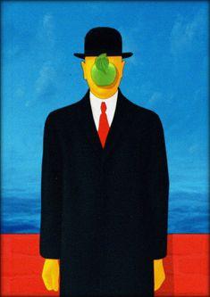 © Raphaëlle Martin - Magritte | LE FILS DE L'HOMME - 1964