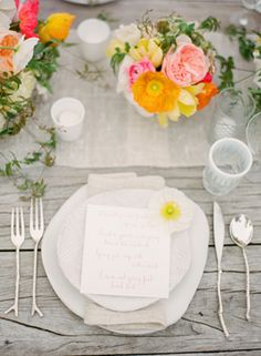 Figueroa Farmhouse Outdoor Wedding Ideas via oncewed.com