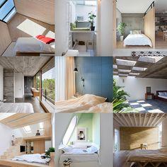 10 of the most popular bedrooms from Dezeens Pinterest boards