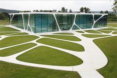 Leonardo Glass Cube   Bad Driburg, Germany   3deluxe Architects