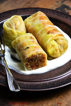 Cabbage Rolls, Kitchen Recipes, Fresh Rolls, Food Dishes, Turkey, Healthy Recipes, Healthy Foods, Bread, Cooking