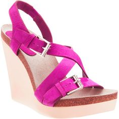 #platform open toe #heel #sandal