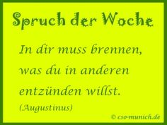 Spruch der Woche cso-munich.de