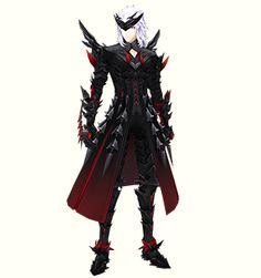 「Chevalier series」「シュバリエシリーズ」コスチューム 装着例 J Character Art, Character Design, Darkness, Characters, Punk, Poses, Costumes, Dragons, Figure Poses