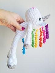 Ravelry: Unicorn Amigurumi pattern by Mari Carmen Idrovo