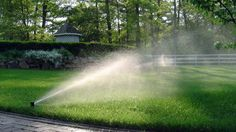 Water Efficient Lawn Sprinkler Systems and Energy Efficient Landscape Lighting. Erik Vaisey, CIC (owner and full-time operator) is an IA Certified Irrigation… Lawn Sprinkler System, Lawn Sprinklers, Save Water, Landscape Lighting, Irrigation, Lawn And Garden, Waterfall, Country Roads, Outdoor