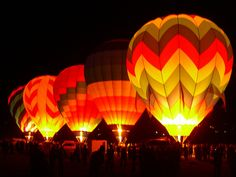 Balloon festivals are one of my very favorite things.