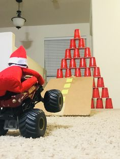 Elf on the shelf Start your engine