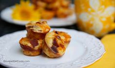 Gourmet Girl Cooks: NEW RECIPE - Easy Breakfast Bites - Low Carb & Delicious