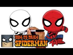 How to Draw Spiderman Homecoming | Drawing Tutorial - YouTube