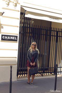 Prada Saffiano Lux Tote Nero Black, leather jacket, outfit, chanel