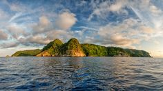 Picture of the Cocos Island off the coast of Costa Rica