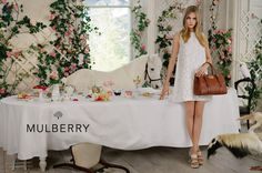 Mulberry Spring/Summer 2014 campaign featuring Cara Delevingne. Photographed by Tim Walker.