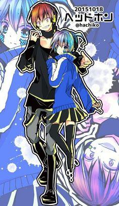 Carnage Pair | KaruNagi | KaruGisa | Karma Akabane x Nagisa Shiota | Assassination Classroom x Kagerou Project
