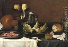 (after) Jacob Foppens Van Es:Still life