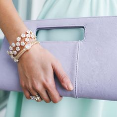 Our Classic Cut It Out Clutch has just landed in the most magnificent shade of lavender! Brunch anyone? #belledujour