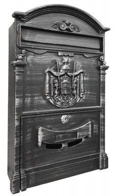 Strend Pro Schránka ALU, hliníková, antique silver, 410x255x090mm Antique Silver, Antiques, Antiquities, Antique, Old Stuff