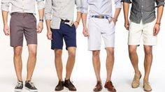 Men Casual Shoes With Shorts - Shoes Collection Fashion Style