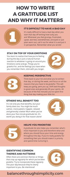 How to write a morning gratitude list - Balance Through Simplicity Best Quotes Images, Journal Prompts, Journals, Grateful Quotes, Writing Lists, Celebrate Recovery, Bullet Journal Aesthetic, Write It Down, Negative Emotions