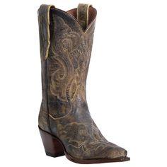 "Women's Dan Post® 11"" Fashion El Paso Leather Boots, Tan"