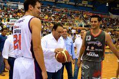 Inaugur  la Liga Nacional de Baloncesto  LNBPoficial 2014-2015 en el partido de  pionerosqr vs Barreteros  Zacatecas
