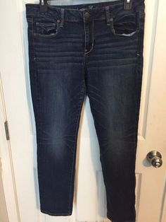 """American Eagle Skinny Jeans Size 14 Short 29"""" #AmericanEagle #Jeans"""