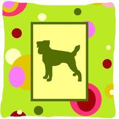 Jack Russell Terrier Indoor/Outdoor Throw Pillow