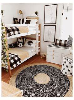Red Kids Rooms, Shared Boys Rooms, Bunk Beds For Boys Room, White Kids Room, Big Boy Bedrooms, Toddler Rooms, Kids Bedroom, Bedroom Ideas, Small Kids Rooms