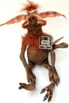 Brand New Salacious Crumb Latex Figure Disney Star Wars Weekends 2013 Plush