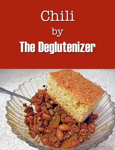 It's finally cold enough again where I just had to make some chili. This recipe makes a few tweaks to the directions on the McCormick Gluten-Free Chili Mix packet that make it taste so much better. Check out the full recipe on The Deglutenizer blog!  http://thedeglutenizer.weebly.com/blog/chili